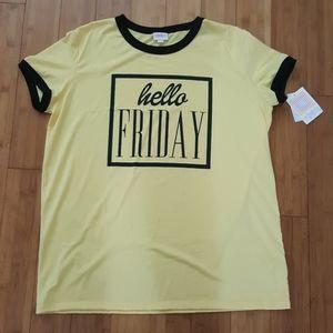 NWT LuLaRoe Liv shirt